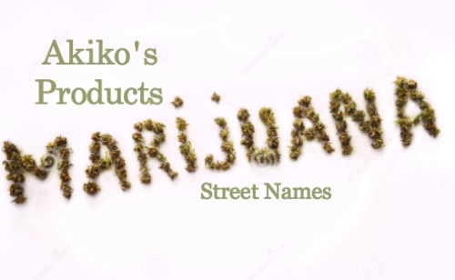 Marijuana Street Names